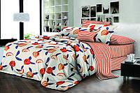 Полуторный комплект постельного белья 150х220 Ранфорс-хлопок 100% (15930)