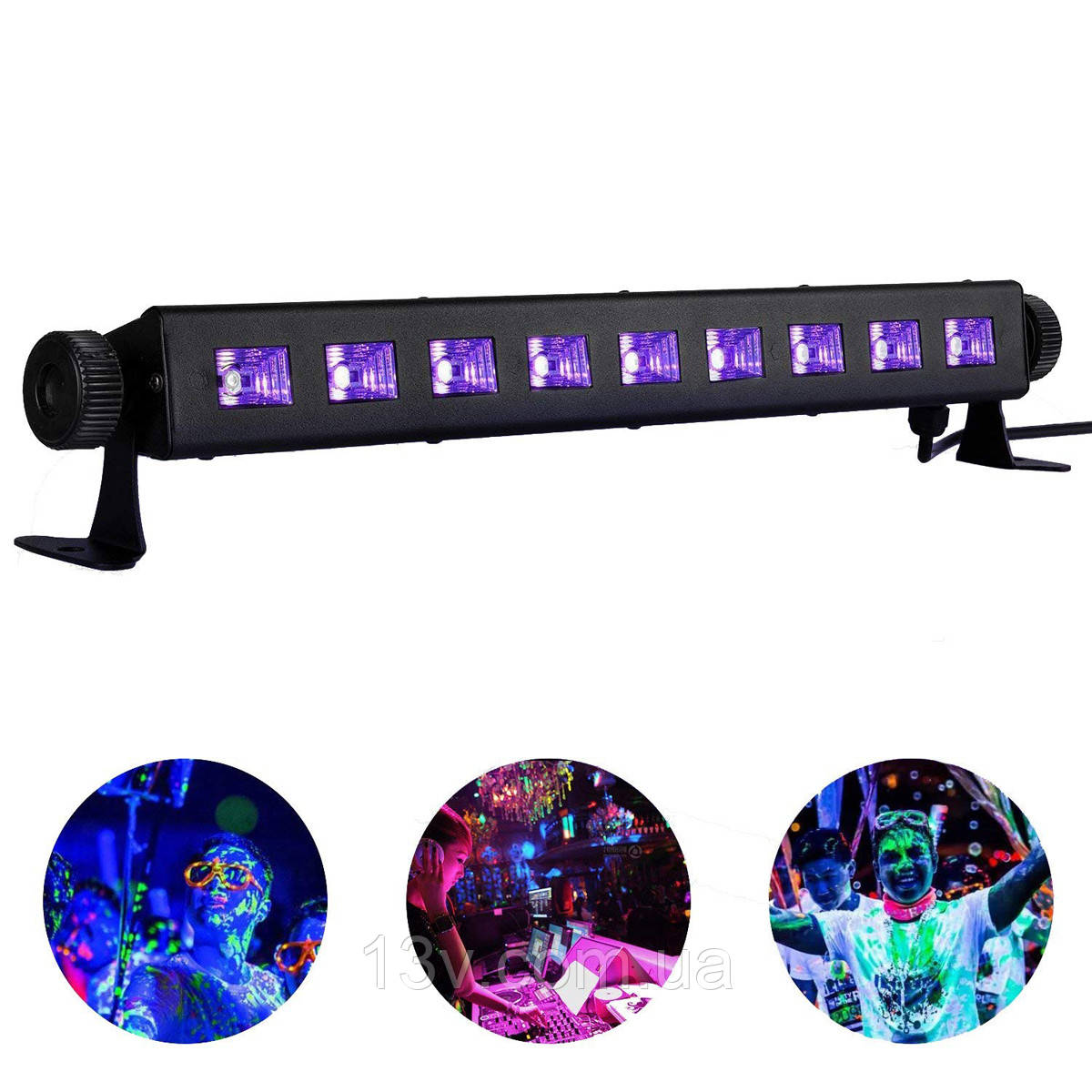 Ультрафіолетова планка  BIG LEDUV 12*3W