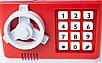 Детская копилка электронная сейф купюроприемник монеты банкомат, фото 3