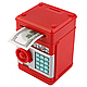 Детская копилка электронная сейф купюроприемник монеты банкомат, фото 4