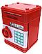 Детская копилка электронная сейф купюроприемник монеты банкомат, фото 5
