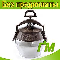Казан полуполированный с ручками, 10 л., фото 1