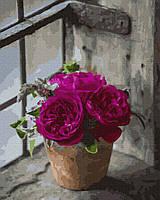 """Картина по номерам. Rainbow Art """"Пышные розы"""" GX37825-RA"""