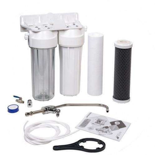 Двухступенчатая система очистки воды Aquafilter FP2-W-K1