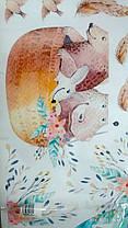 """Декоративные наклейки для детского сада, наклейка в детскую """"воздушные шары акварель"""" 75*78см (лист30*90см), фото 3"""