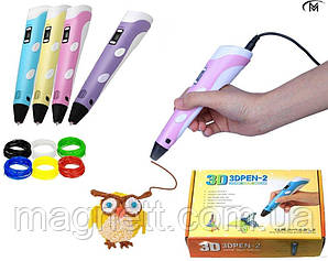 3D PEN Myriwell (RP-100B) 3д ручка ручка для малювання фігурок 3д