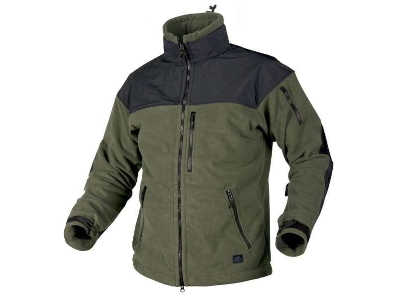Тактическая флисовая куртка/ кофта Helikon-Tex® Classic Army Windblocker (оливковый)