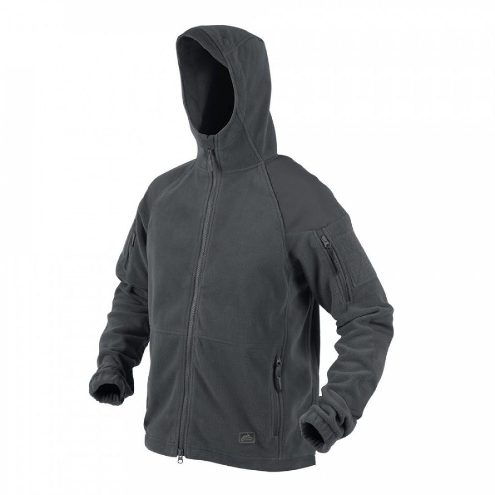 Демисезонная флисовая куртка/ кофта Helikon-Tex® CUMULUS (серая)