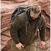Демисезонная флисовая куртка/ кофта Helikon-Tex® CUMULUS (серая), фото 2