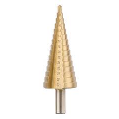 Сверло ступенчатое по металлу 4-32 мм