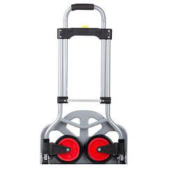 Тележка ручная складная до 60 кг, 385*375*960, колеса 130 мм, (стальная)