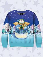 Детский свитшот. Свитшот новогодний. Свитшоты для детей. Свитшоты. Яркий свитшот. Свитшот снеговик ангел.
