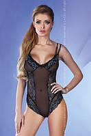 Очаровательное женское боди с кружевом и вышивкой ТМ  Livia Corsetti