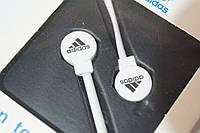 Вакуумные наушники Adidas sport edition белые