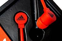 Вакуумные наушники Adidas sport edition красные
