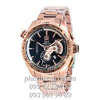 Tag Heuer Carrera  calibre 36 кварцевый хронограф Мужские наручные часы