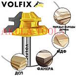 Фреза VOLFIX №2 D38 d8 для кутового зрощування деревини (мікрошип) (марошип) по дереву FZ-120-552 d8, фото 2