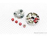 (MSU) Вариатор передний к-кт Suzuki LETS (внутренняя щека 14мм) 1 / 2, фото 2