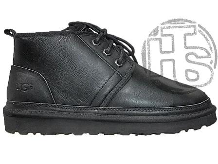 Женские ботинки UGG Neumel Metallic Black (женские Угг Неумел металлик черные) 3236