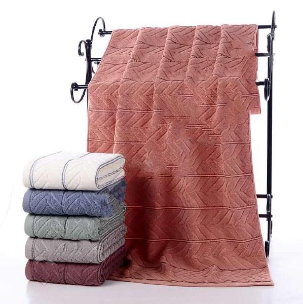 фотография банные махровые полотенца