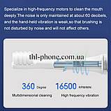 Щетка Xiaomi Mijia Sonic Electric Toothbrush T100 зубная MES603 NUN4067CN, фото 10