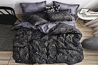 Полуторный комплект постельного белья 150*220 сатин_хлопок 100% (15970), фото 1