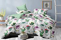 Полуторный комплект постельного белья 150*220 сатин_хлопок 100% (15972), фото 1