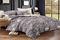 Полуторный комплект постельного белья 150*220 сатин_хлопок 100% (15973), фото 1