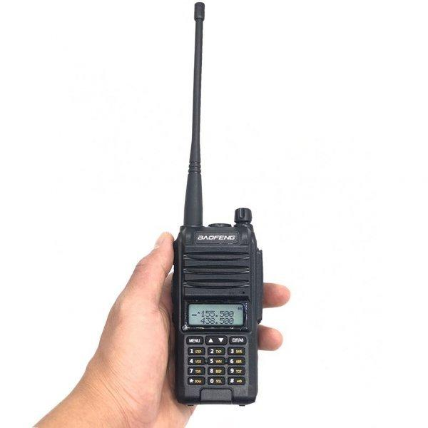 Рация Baofeng BF-A58S трёхдиапазонная радиостанция 8 ватт, аккумулятор 2800 mAh