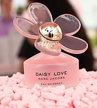 Marc Jacobs Daisy Love Eau So Sweet туалетная вода 100 ml. (Тестер Марк Джейкобс Дейзи Лав Еау Соу Свит), фото 2