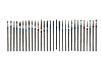 Набор алмазных насадок 30шт для маникюра фрезер Насадки фрез фрезера, фото 2