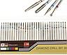 Набор алмазных насадок 30шт для маникюра фрезер Насадки фрез фрезера, фото 5