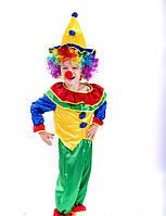 Карнавальний костюм Петрушка-Клоун з перукою, фото 1