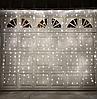 Гірлянда штора лампи Едісона 200LED 10 кульок по 8 см ширина 3м Теплий білий   Ретро гірлянда RD-9014, фото 2