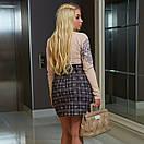 Женская юбка  короткая  мод.729 Анна Оди размер 42-64, фото 3