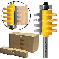 VOLFIX d8 фреза для зрощування деревини (мікрошип) (марошип) по довжині і ширині по дереву