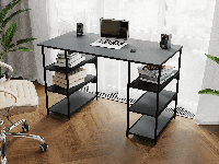 Письменный стол лофт, компьютерный стол Rimos Feel the Game - ARES, геймерский стол Loft, фото 1