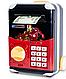 Детская копилка электронная сейф купюроприемник с замком кодовым, фото 3