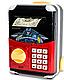Детская копилка электронная сейф купюроприемник с замком кодовым, фото 4