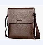 Чоловіча класична сумка, фото 3