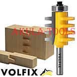 VOLFIX d8 фреза для зрощування деревини (мікрошип) (марошип) по довжині і ширині по дереву, фото 2