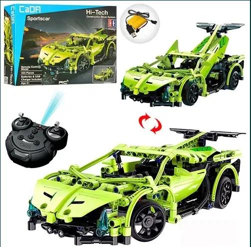 Конструктор Лего Lego техника на радиоуправлении CaDa Porsche 421 дет