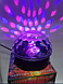 Музыкальный диско-шар с Bluetooth и пульт Свето музыка светомузыкой, фото 6