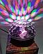 Музыкальный диско-шар с Bluetooth и пульт Свето музыка светомузыкой, фото 4