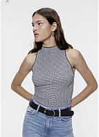 Женский молодежный топ безрукавка борцовка бренд Zara