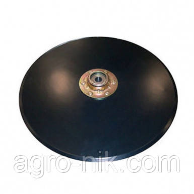 Диск сошника D=381 мм в сборе AA37474 AA55927 AA20242 GA8324 852063 (Bellota) Kinze