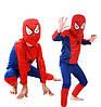 Детский карнавальный костюм персонажа мультфильма Человека Паука, Спайдермена 3-8 лет