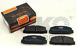 Колодки тормозные задние Mazda 626 GF 6 GG GY GH 1997-2012г.в., фото 2