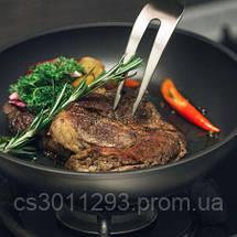 Индукционная сковорода Elegant с антипригарным покрытием 28 см h 5,3 см Krauff 25-45-070, фото 3