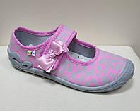 Тапочки 3F Atena 4A3/18 рожеві для дівчинки